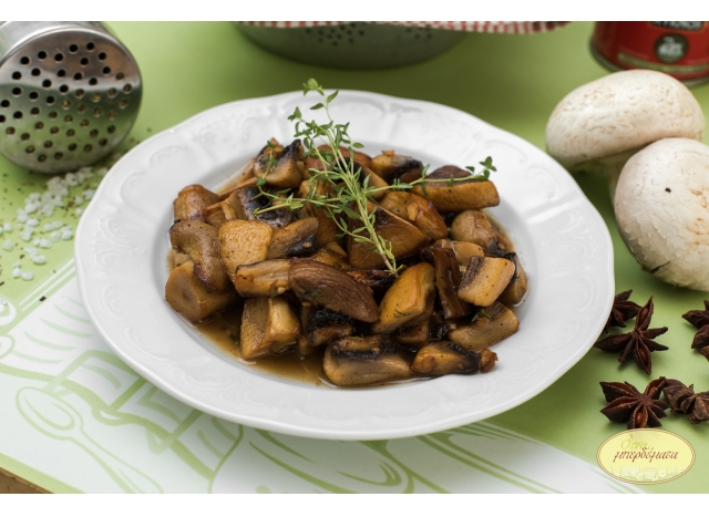 Mushrooms a la Grec