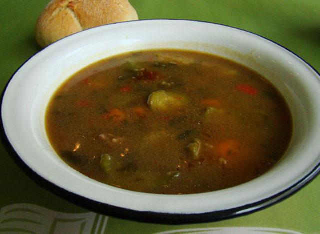 Σούπα μοσχάρι